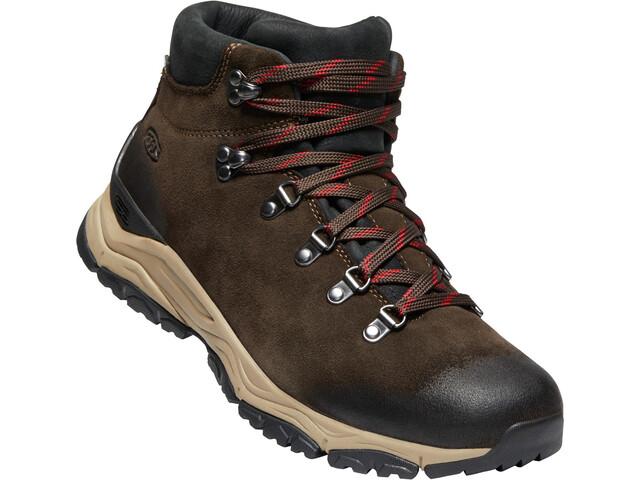Keen Feldberg Apx WP Shoes Herre Ebony/Brown